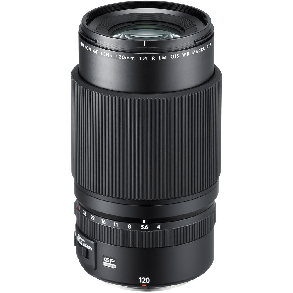 The Fujinon GF 120mm can be both a macro and portrait lens.
