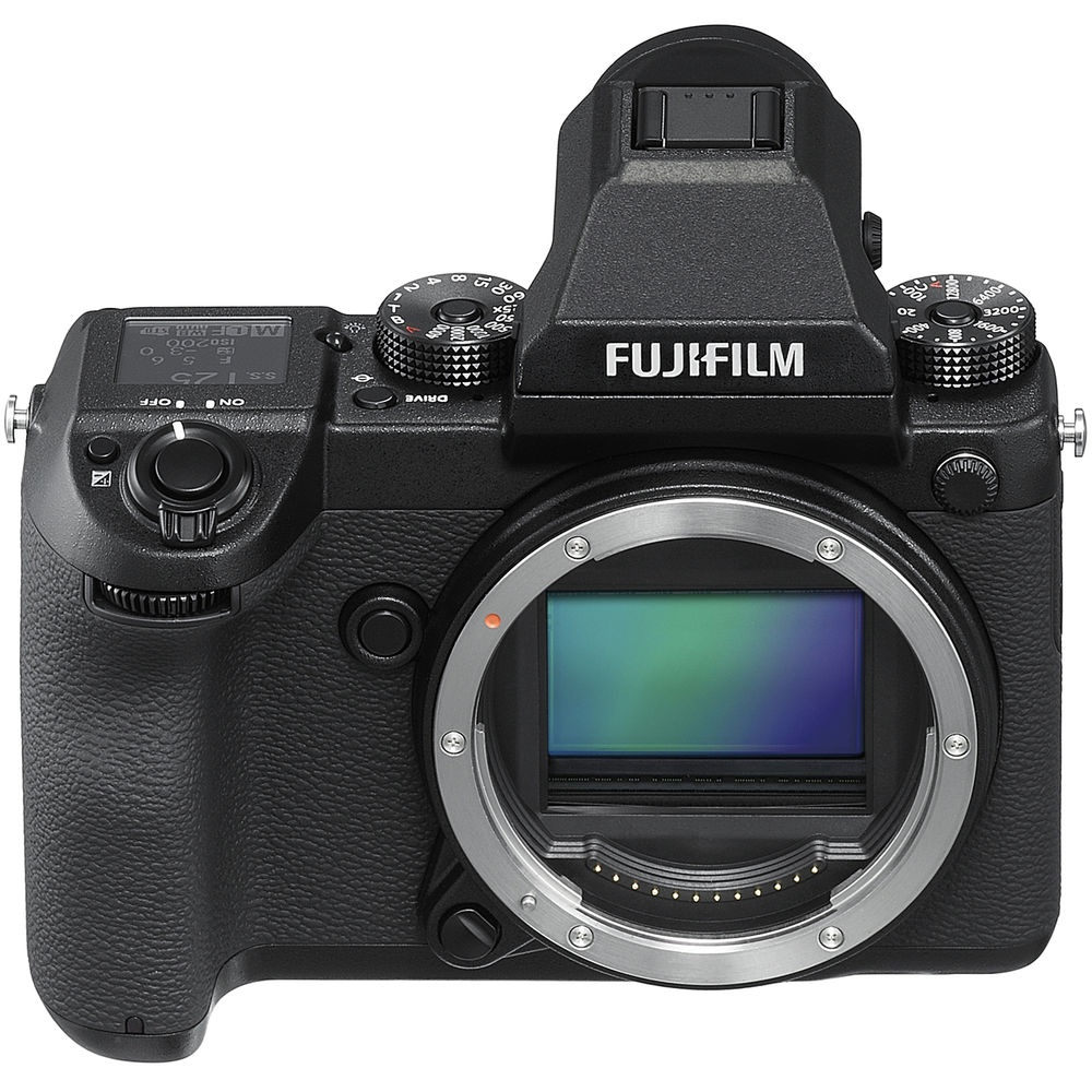 The Fujfilm GFX 50S begins shipping February 2017.