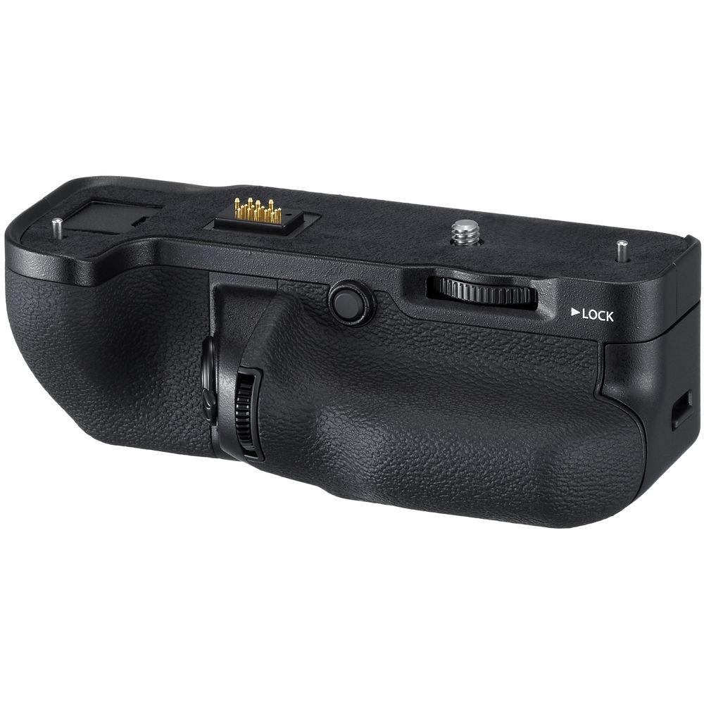 The accessory battery grip for the Fujfilm GFX 50S.