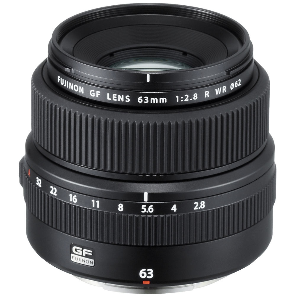 The Fujinon GF 63mm has a 50mm field of view (35mm equivalent).