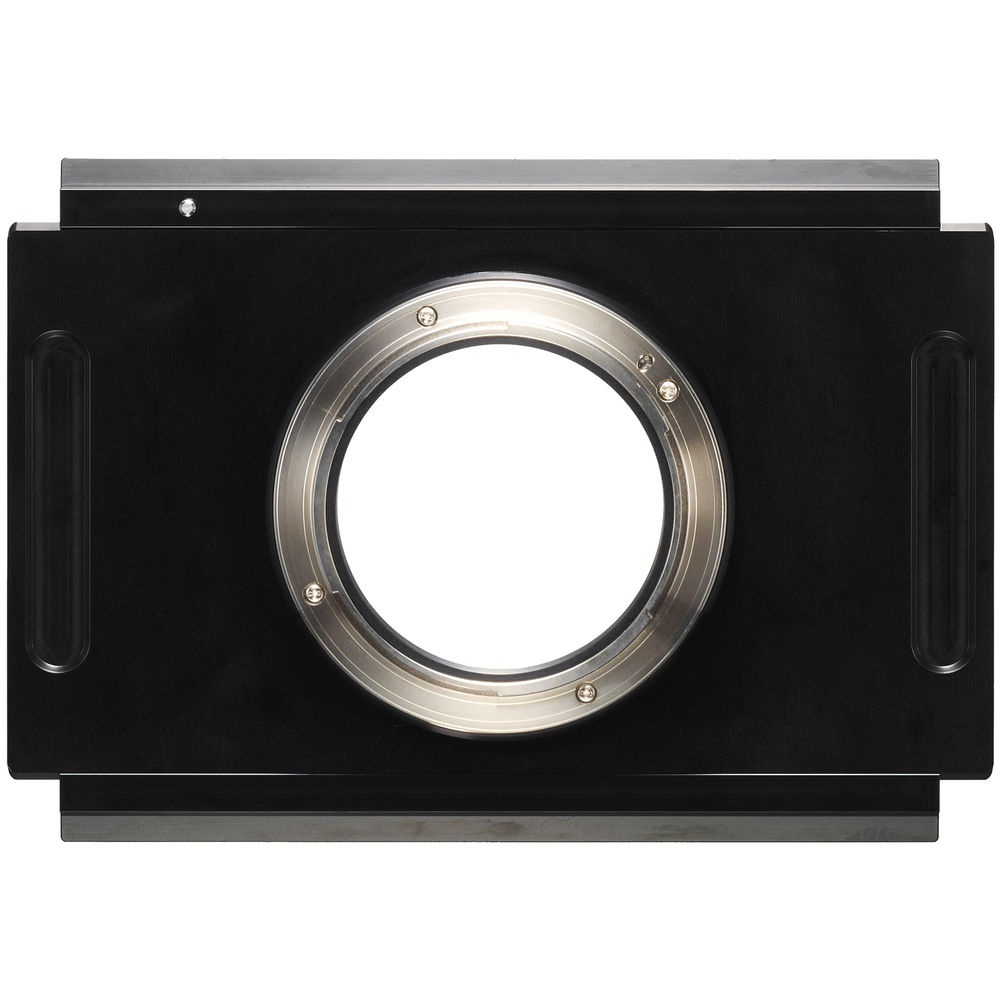 The Fujifilm View Camera Adapter G allows the GFX 50S body to be mounted to a view camera.