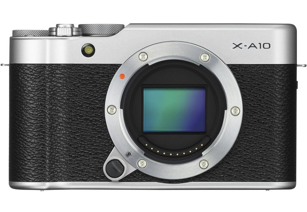 The Fujifilm X-A10 can accept any X-series lens.