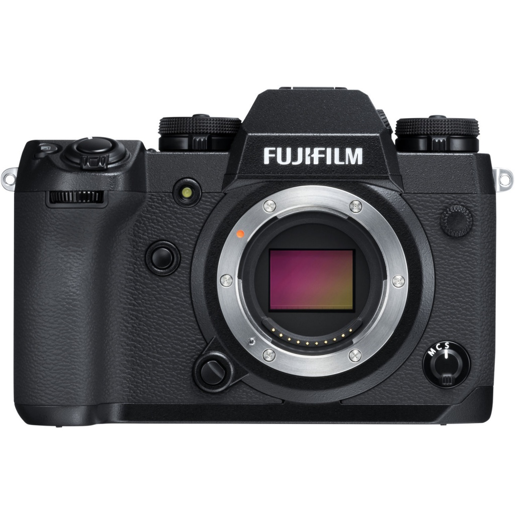 The Fujifilm X-H1 has pro-level features and durability.