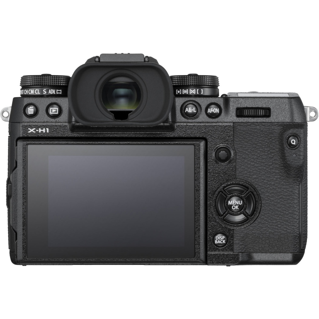 The Fujifilm X-H1 isn't packed with unnecessary buttons.