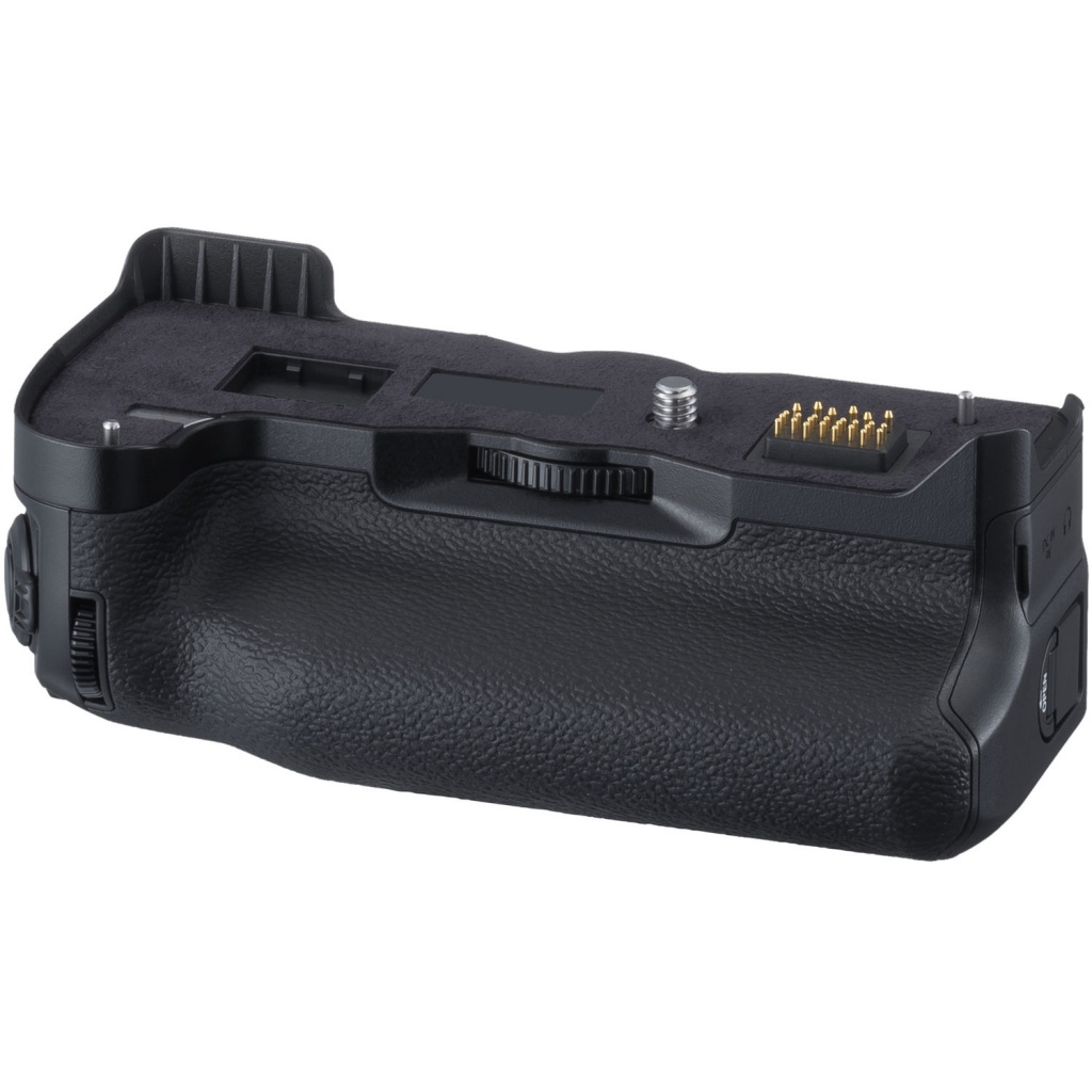 The Vertical Power Booster Grip can hold two additional batteries to provide for extended shooting.