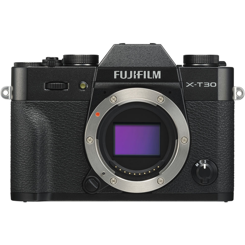 The Fujifilm X-T30 uses a 26.1-MP sensor.