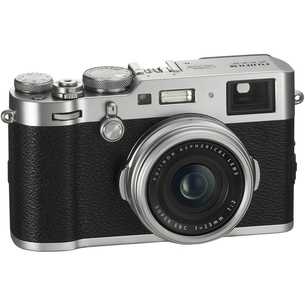 The Fujifilm X100F has a hybrid optical and electronic viewfinders.
