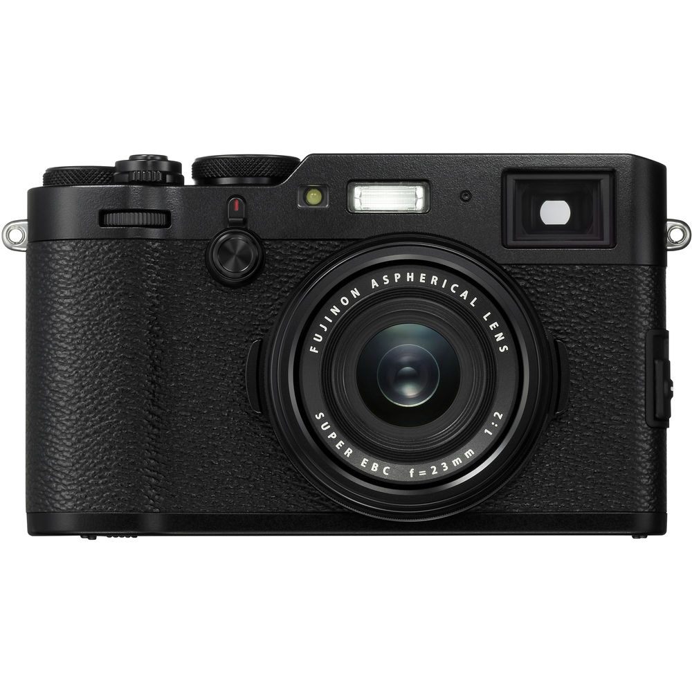 The Fujifilm X100F is also available in black.