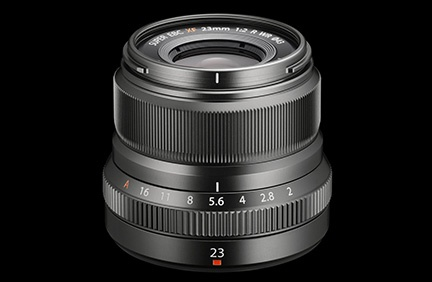 This f/2.0 XF 23mm R WR lens is part of the Fujifilm X-Pro2 Graphite Silver Edition kit.