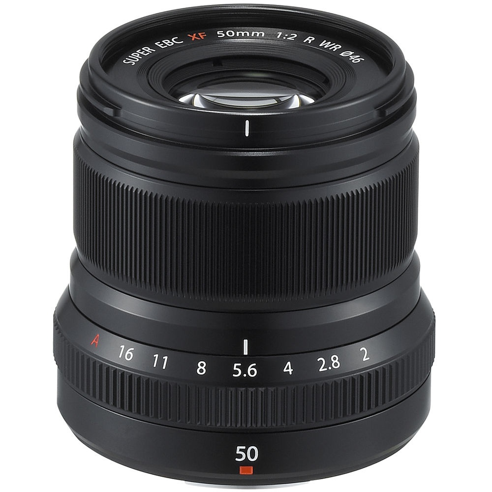 The Fujinon 50mm has a 75mm full-frame equivalent field of view.