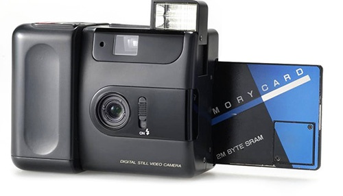 Fuji developed the first entirely digital camera in 1988, the FUJIX DS-1P.