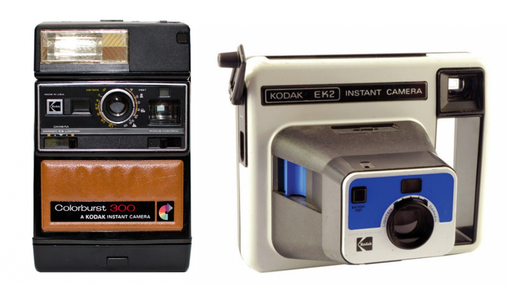 The success of the Polaroid proved that people wanted photos instantly. Kodak created its own film and line of largely plastic cameras with some featuring brown vinyl inserts (remember naugahyde?) and others having a handle that you used to crank your photo from the camera. All were rendered as doorstops when Polaroid successfully sued, forcing Kodak to halt production of its instant film and cameras.