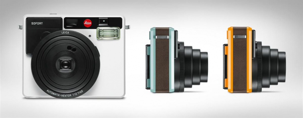 The Leica SOFORT will be available in three colors: White, Mint and Orange.