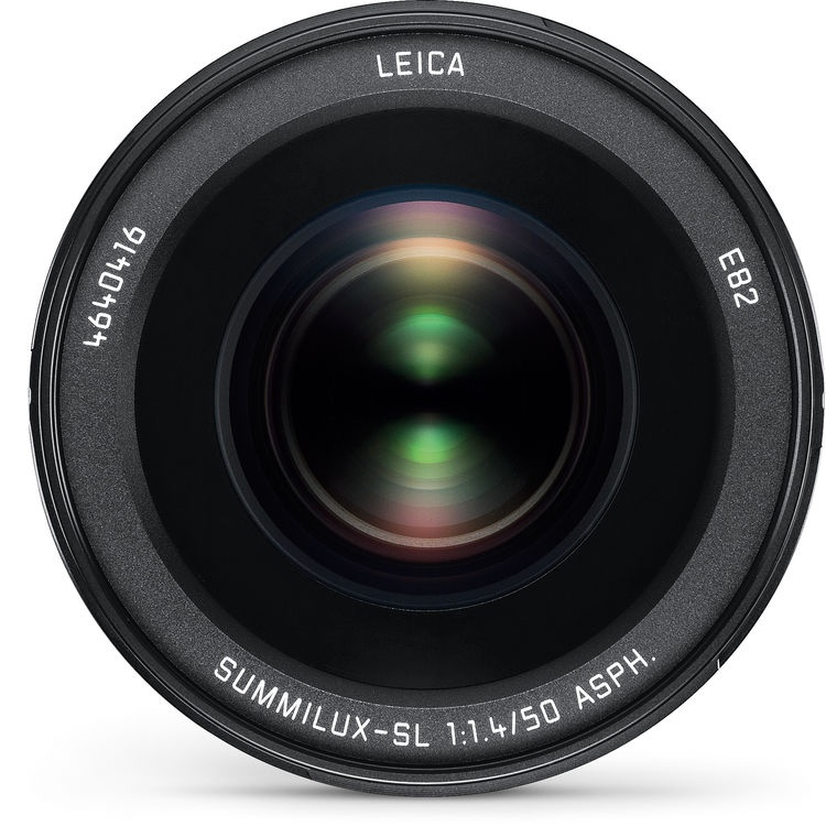 The Leica Summilux-SL 50mm f/1.4 ASPH. uses two aspherical elements in its design.