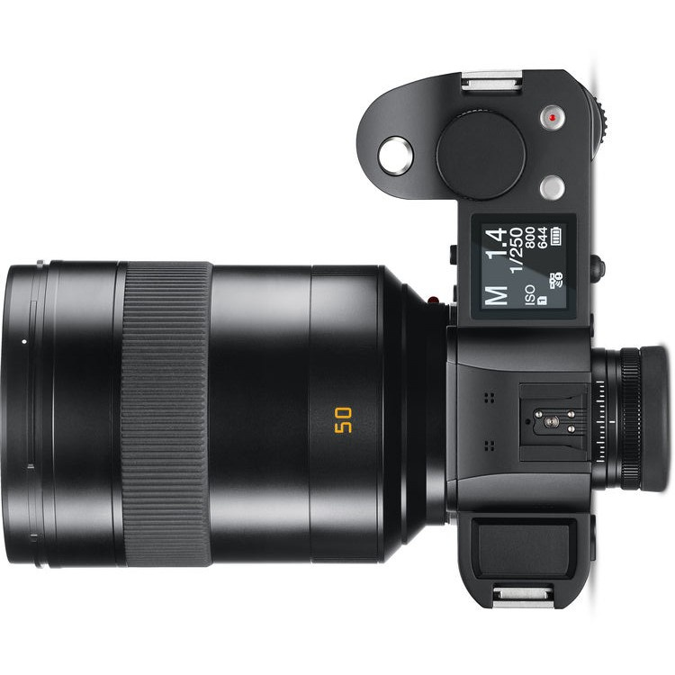 The Leica Summilux-SL 50mm f/1.4 ASPH. is a substantial lens in terms of size.