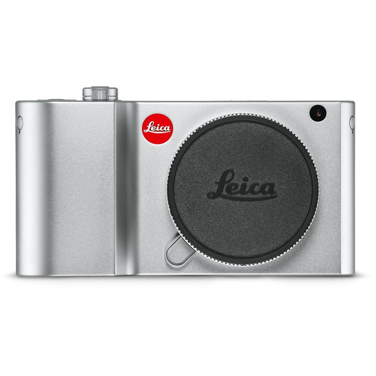 The Leica TL2 in silver.