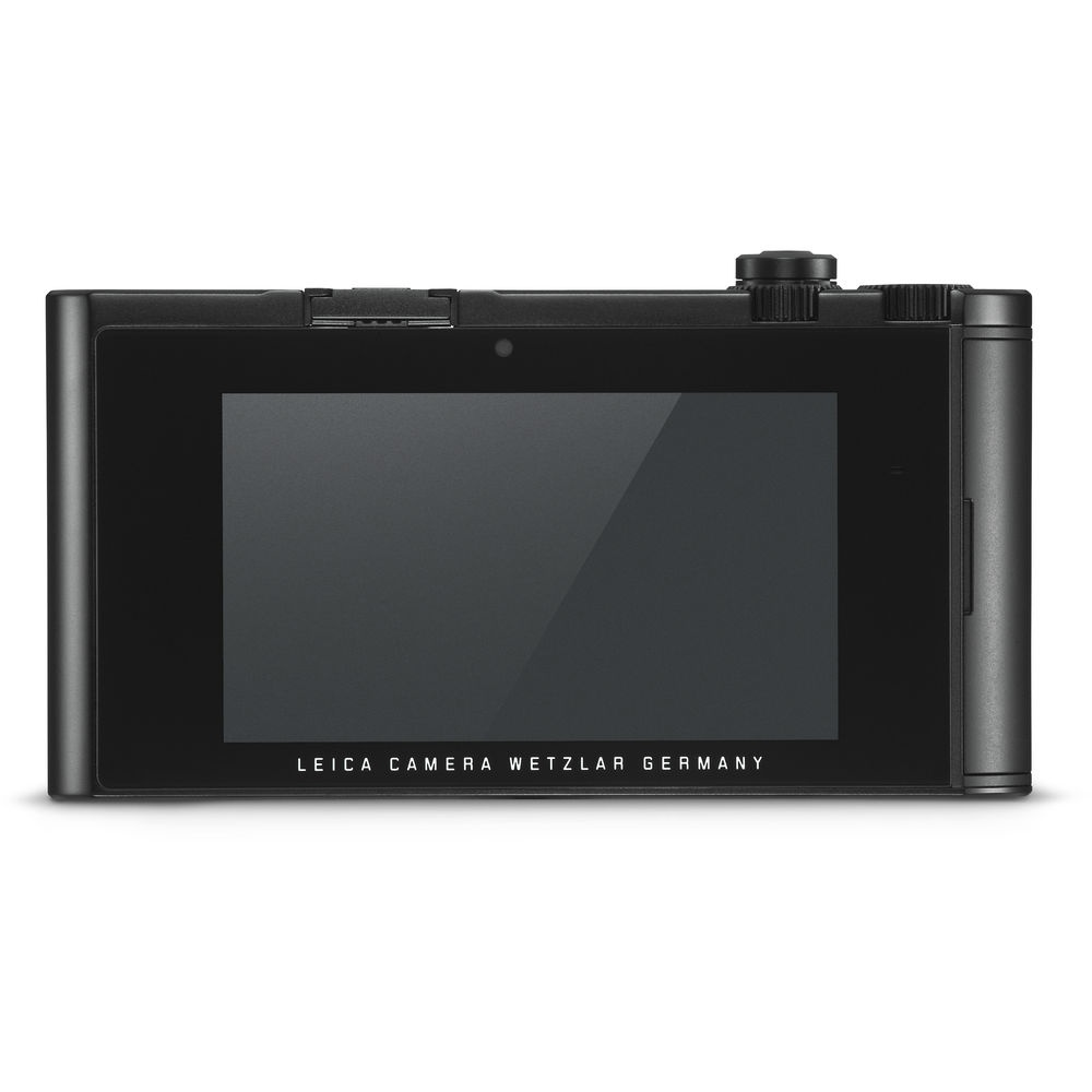 The rear of the Leica TL2 has a 3.7-inch touchscreen LCD monitor but no buttons.