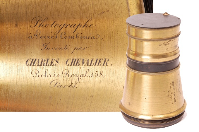 Charles Chevalier created the world's first convertible lens in the 1830s.