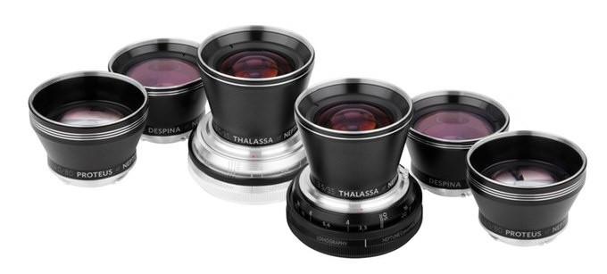 The Lomography Neptune Art Lens System will be available in Canon EF, Nikon F and Pentax K mounts.