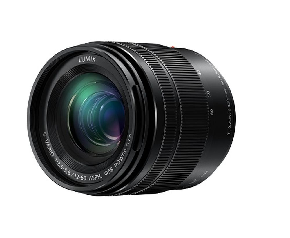 The Panasonic Lumix 12-60mm has a full-frame equivalent focal length range of 24-120mm.