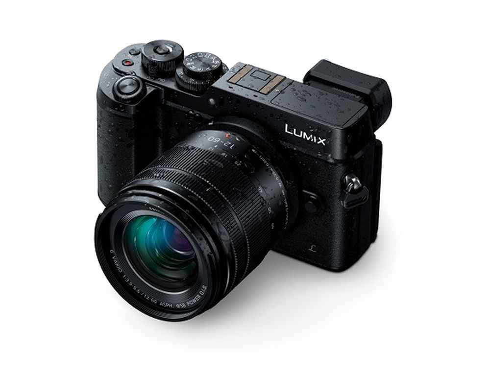 This Panasonic photos emphasizes the weather-resistant abilities of the Panasonic Lumix 12-60mm.