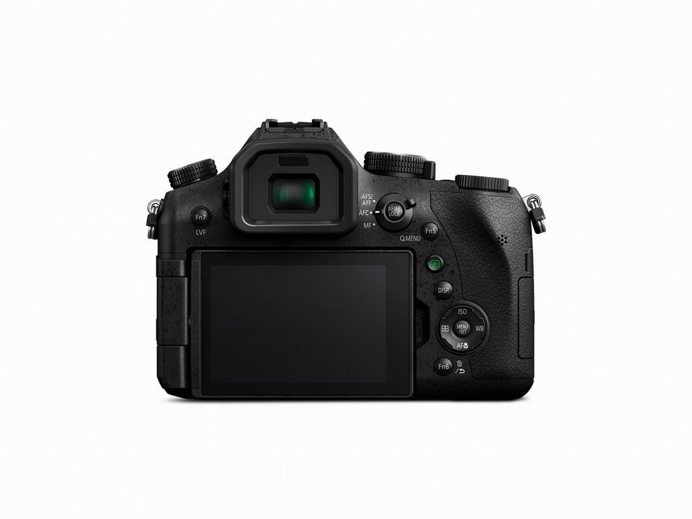 The Panasonic Lumix DMC-FZ2500 has an electronic viewfinder and a touchscreen 3.0-inch LCD monitor.