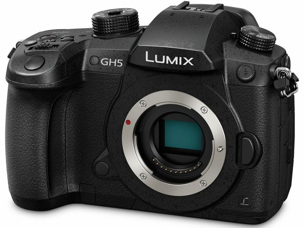 The Panasonic Lumix GH5 is a high-end mirrorless camera that can shoot still photos, as well as pro-level video.