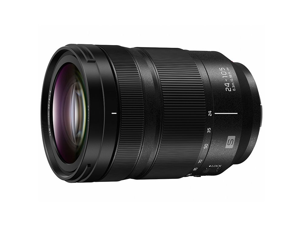 The Panasonic Lumix S 24-105mm is an all-purpose kit lens.