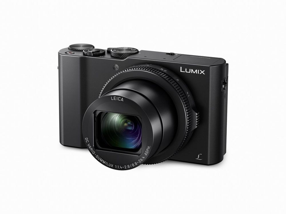 The Panasonic Lumix DMC-LX10 can shoot at up to 40 still frames per second using the electronic shutter.