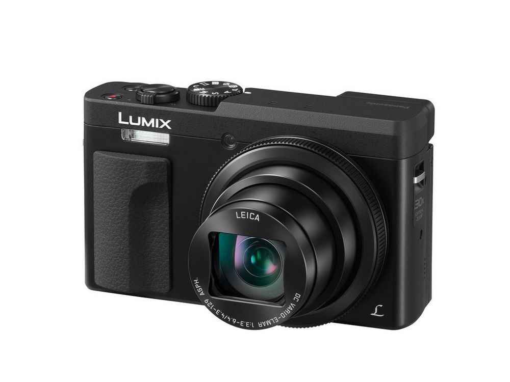The Panasonic Lumix DMC-ZS70 has a small built-in flash that sits above the hand grip.