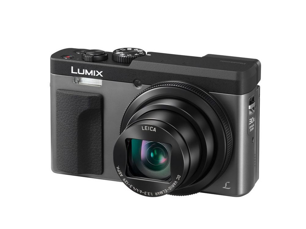 The Panasonic Lumix DMC-ZS70 is also available in silver.