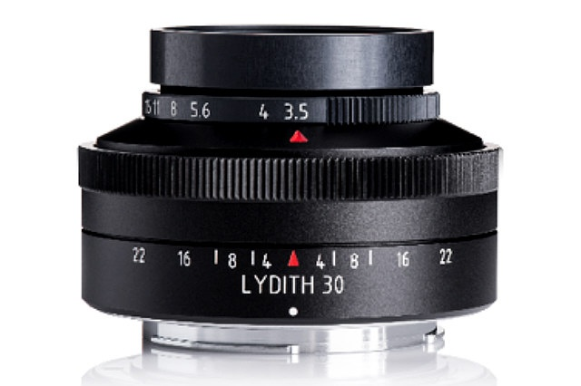 A prototype of the Meyer-Optik 30mm Lydith shows it resembles the company's other lenses.