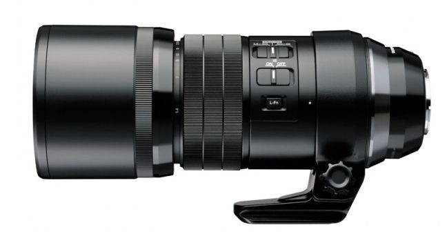 The M.Zuiko ED 300mm f4.0 IS PRO has a Focus Limit switch,
