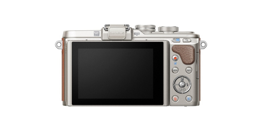 The rear of the Olympus Pen E-PL8.