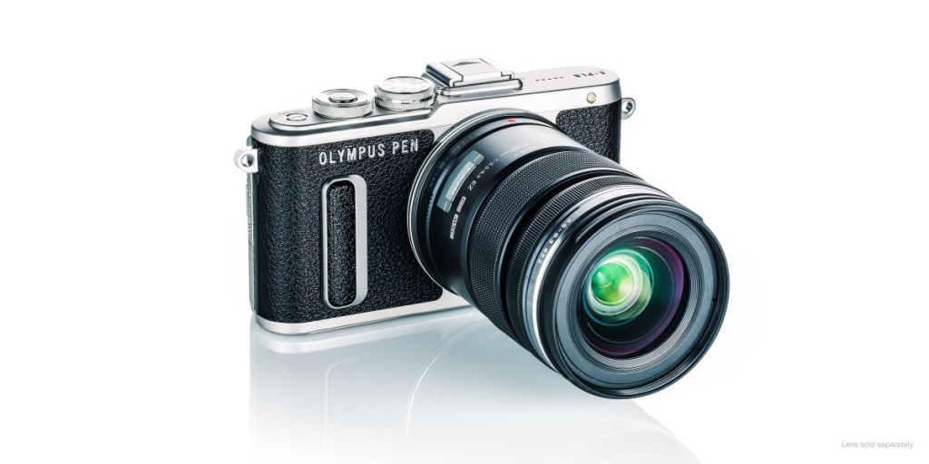 The Olympus Pen E-PL8 accepts lens in the Micro Four Thirds mount.