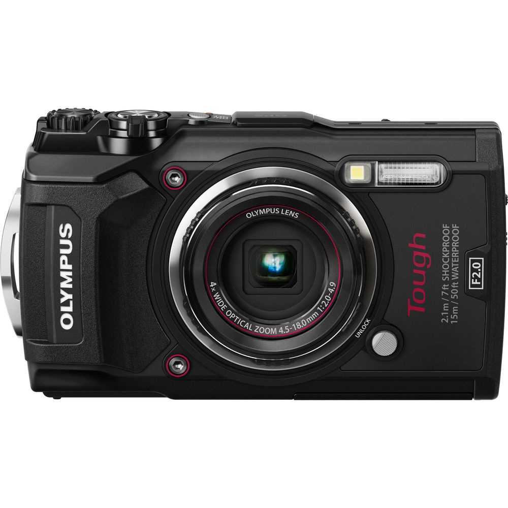 The Olympus Tough TG-5 is also available in black.
