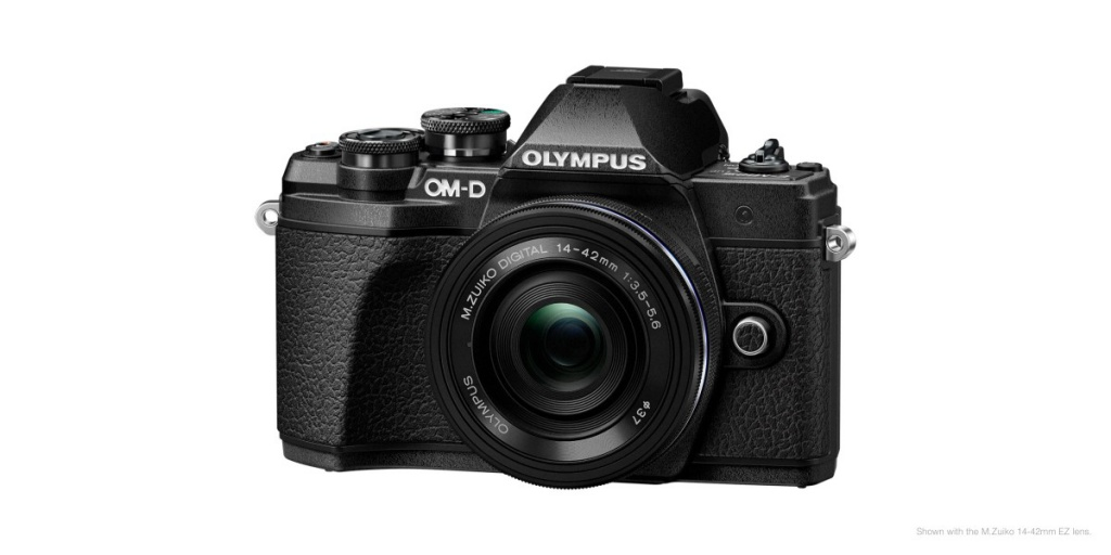 The Olympus OM-D E-M10 Mark III is also available in black.
