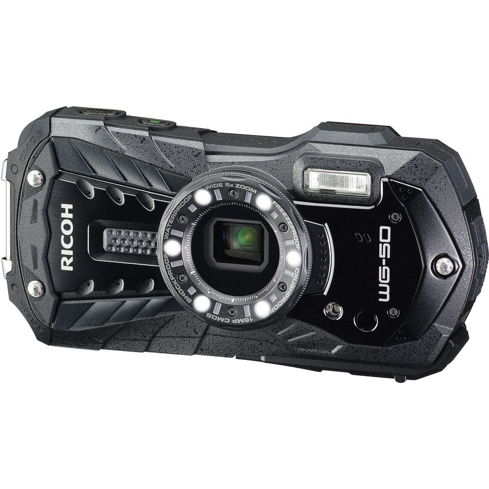 The Ricoh WG-50 is also available in black.