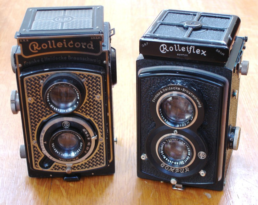Francke & Heidecke created two twin-lens reflex cameras that were widely seen as the best of the genre.
