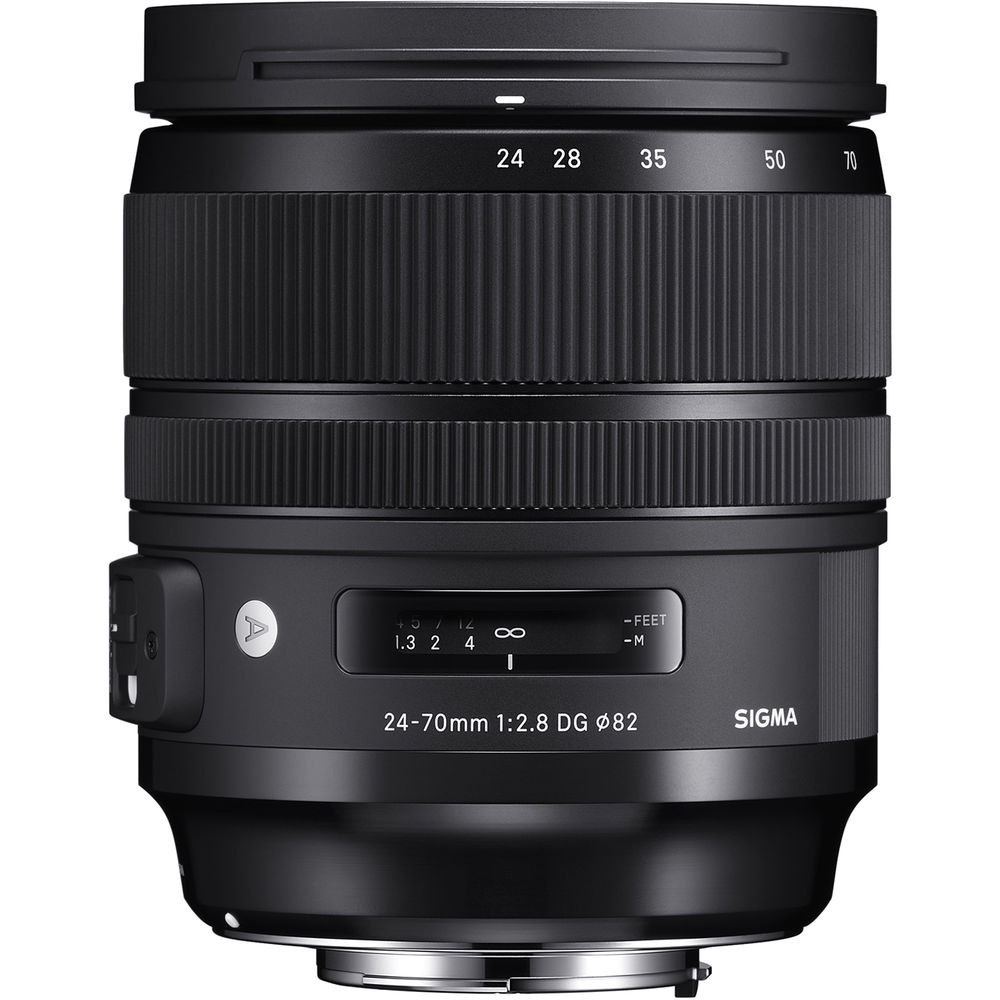 The Sigma 24-70mm f/2.8 DG HSM OS Art is weather-sealed.