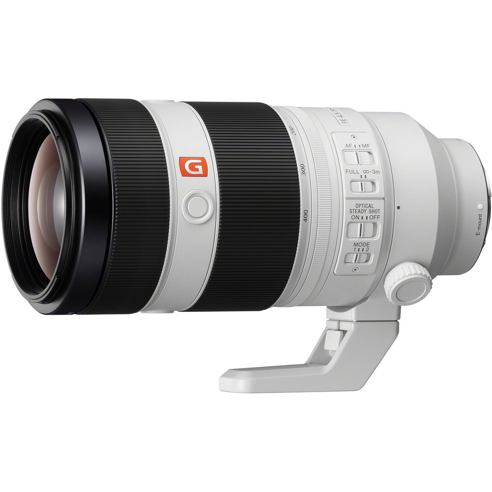 The Sony FE f/4.5-5.6 100-400mm GM OSS is the fifth G Master lens for the E mount.
