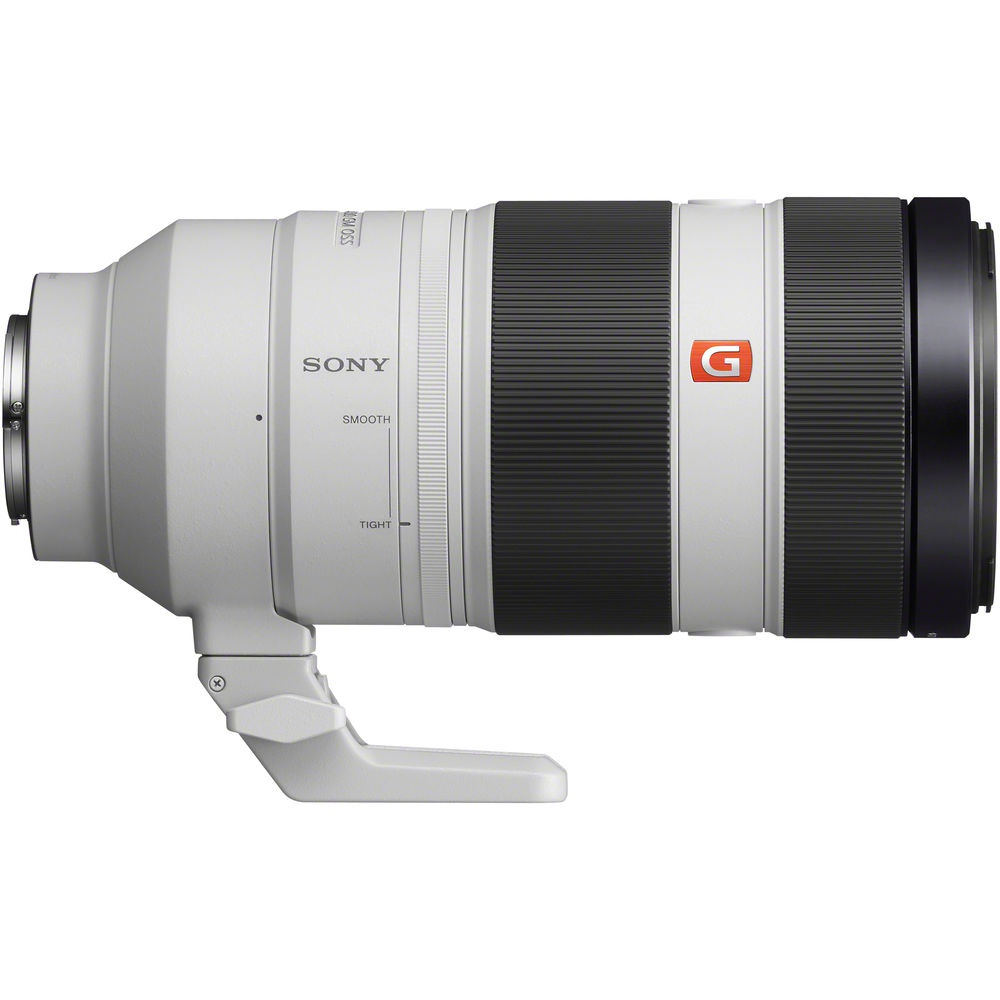 """The small serrated ring in front of the """"Sony"""" name adjusts the tension of the zoom ring."""