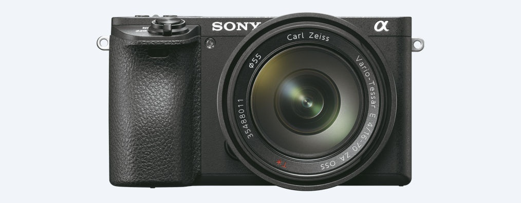 The Sony A6500 can use any E-mount lens, including those intended for full-frame bodies.