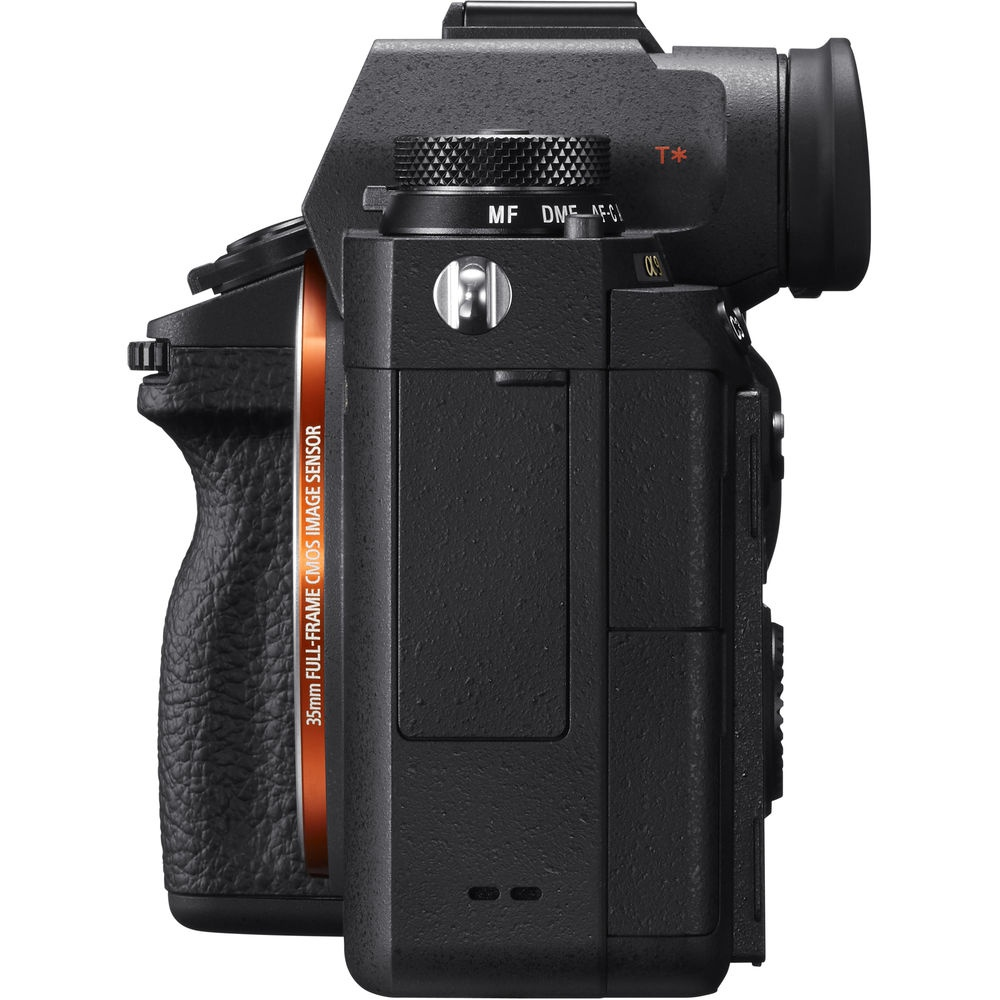 The Sony A9's port covers have sealing to resister dust and moisture.