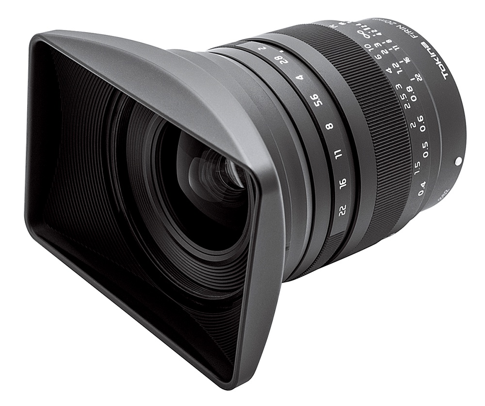 The Tokina FiRIN f/2.0 20mm lens fits Sony E-mount full-frame and APS-C sensor cameras.