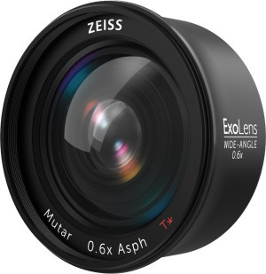 The Zeiss ExoLens wide angle lens.