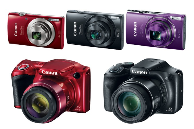 Canon's new PowerShot cameras