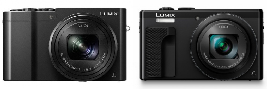 Panasonic Lumix ZS100 and ZS60