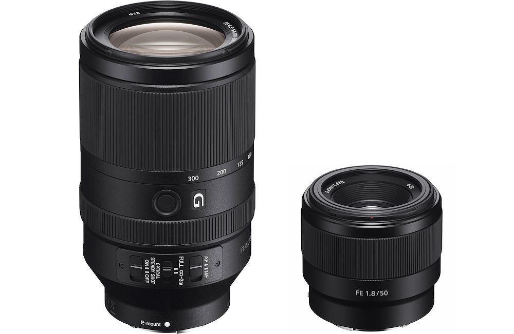 Sony answers Alpha E-mount owners with two full-frame FE lenses ...