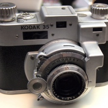 Kodak 35 with rangefinder